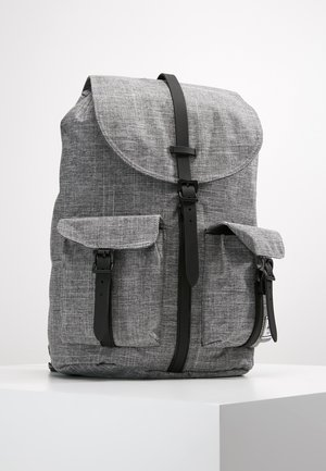 DAWSON - Mochila - raven crosshatch/black