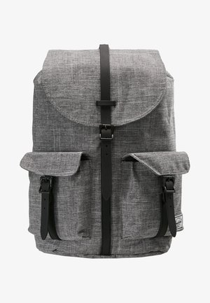 DAWSON - Rucksack - raven crosshatch/black