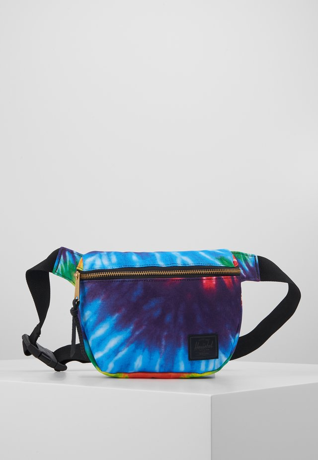 FIFTEEN GÜRTELTASCHE - Bum bag - rainbow tie dye