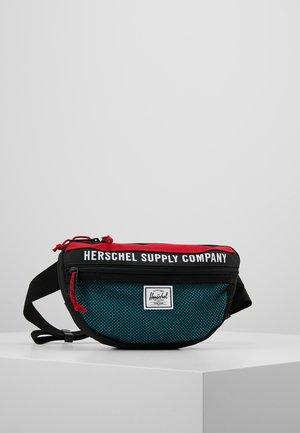 NINETEEN - Bum bag - black/red/blue
