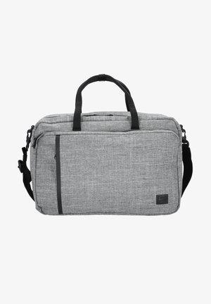 Laptop bag - grey/off white