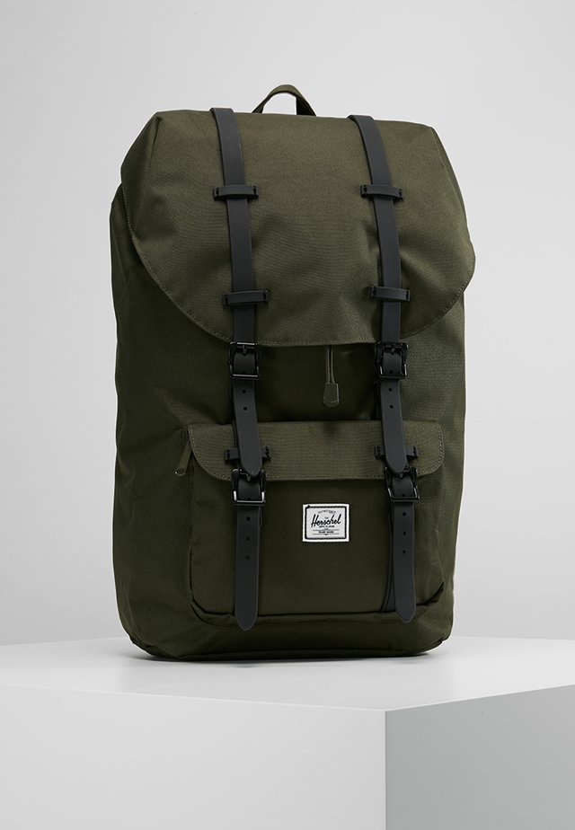 LITTLE AMERICA - Tagesrucksack - forest night/black