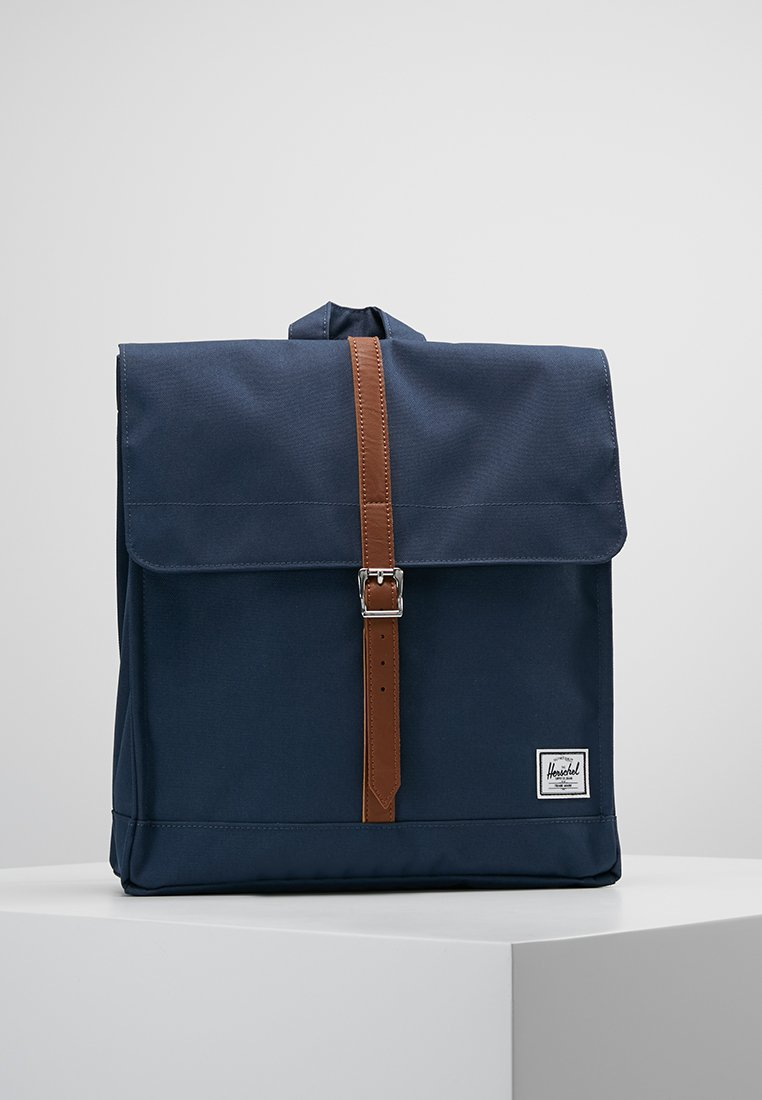 Herschel - CITY MID VOLUME - Zaino - navy/tan