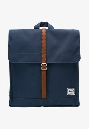 CITY MID VOLUME - Ryggsäck - navy/tan