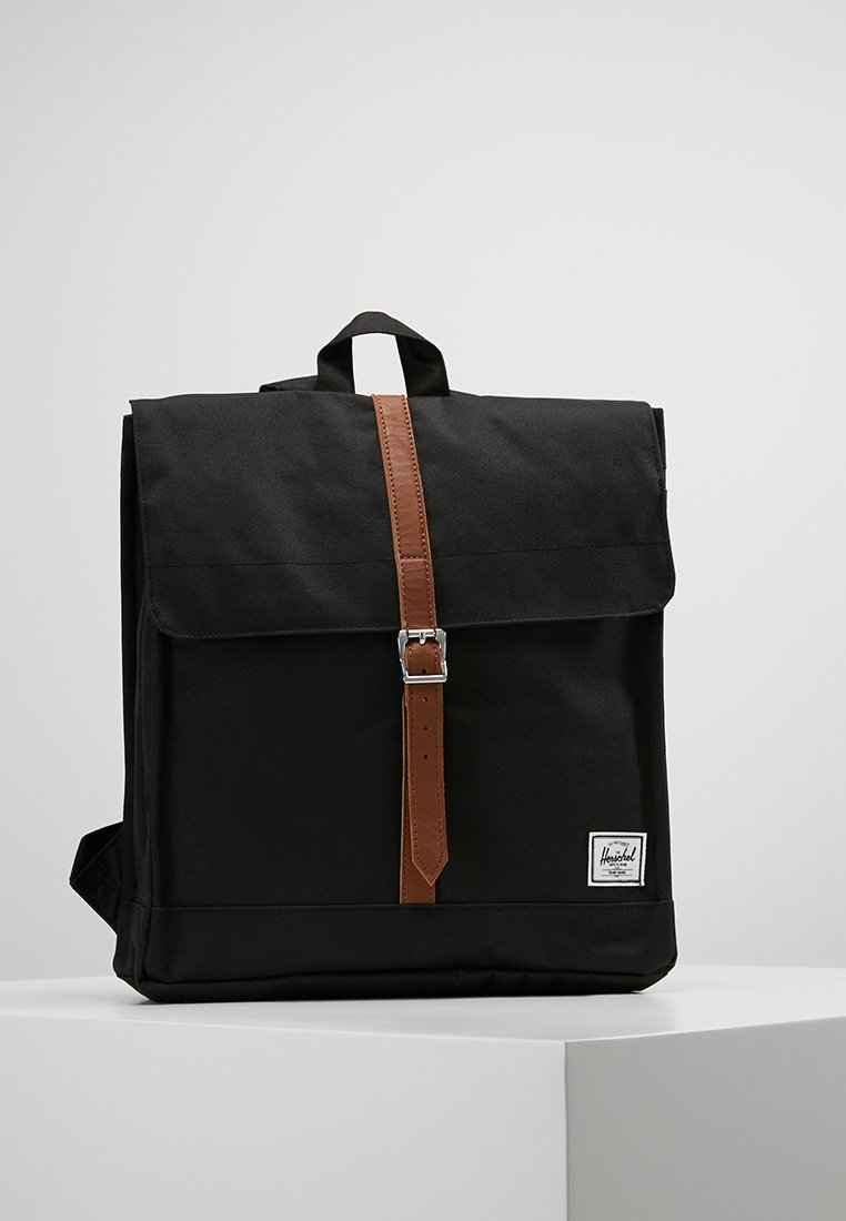 Herschel - CITY MID-VOLUME - Sac à dos - black/tan