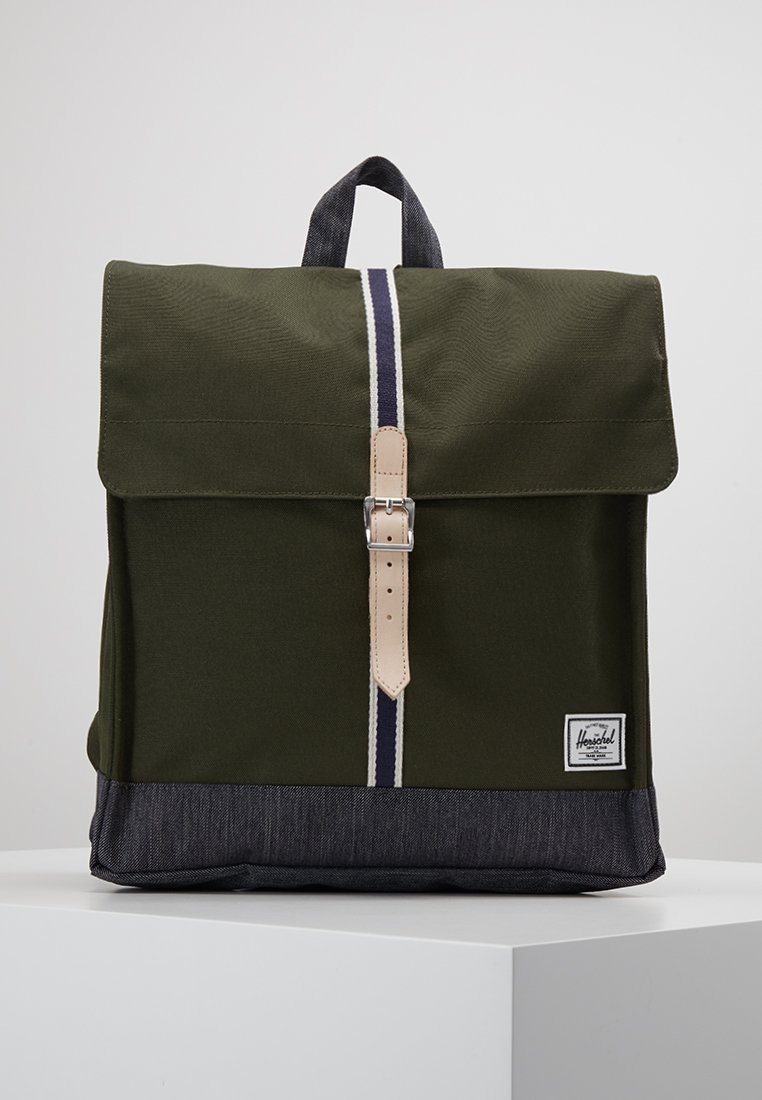 Herschel - CITY MID-VOLUME - Rucksack - forest night/dark denim