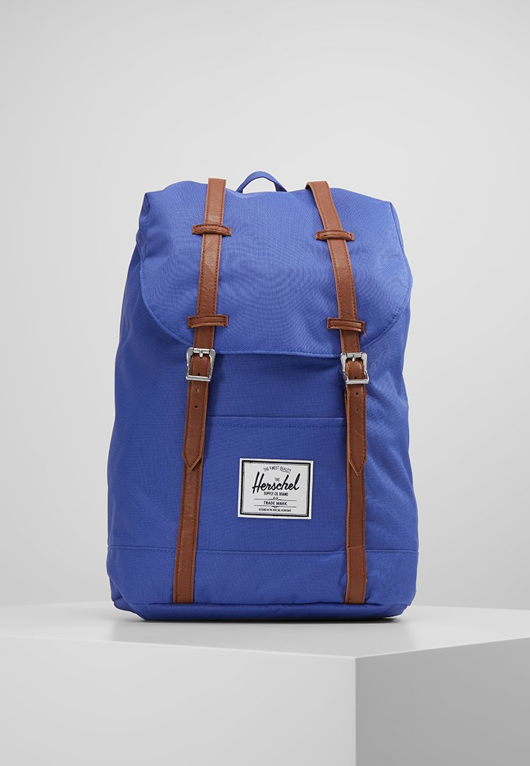 Herschel - RETREAT - Rucksack - deep ultramarine/tan