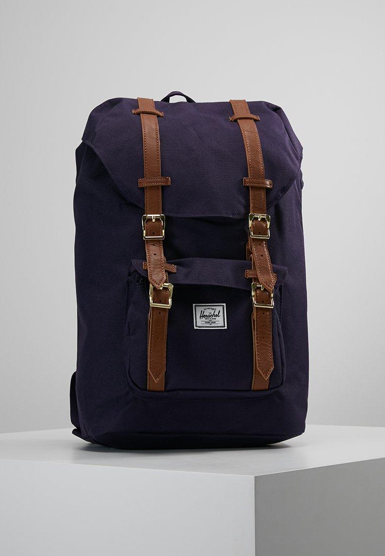 Herschel - LITTLE AMERICA MID VOLUME - Plecak - purple velvet/tan