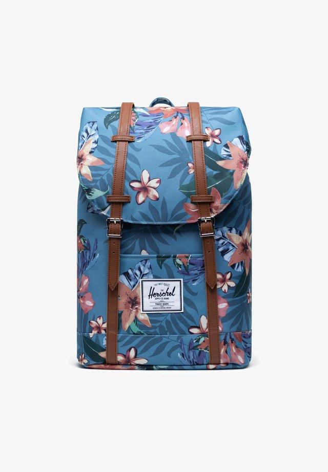 RETREAT - Sac à dos - summer floral heaven blue