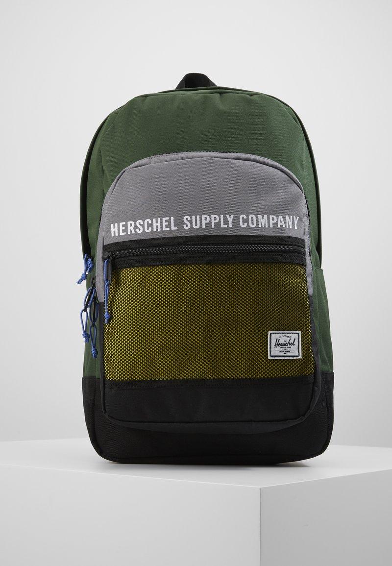 Herschel - KAINE - Rucksack - greener pastures/grey/cyber yellow