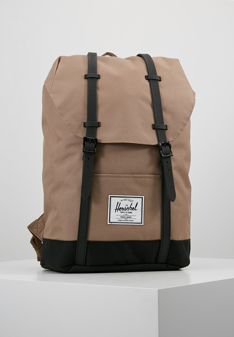 Herschel - RETREAT - Ryggsekk - pine bark/black