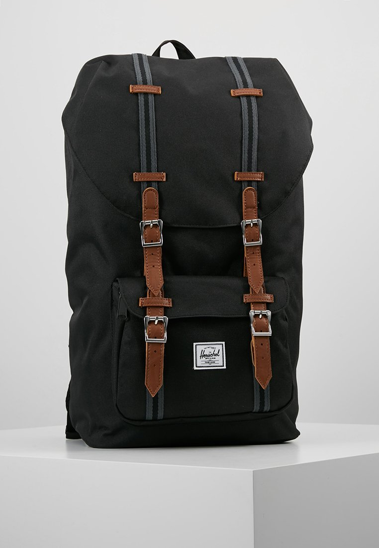 Herschel - LITTLE AMERICA - Reppu - black/tan