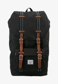 Herschel - LITTLE AMERICA - Reppu - black/tan - 6