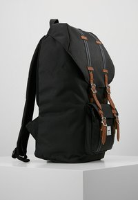 Herschel - LITTLE AMERICA - Reppu - black/tan - 3