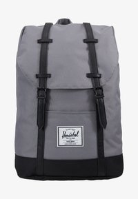 Herschel - RETREAT - Rucksack - grey/black - 6