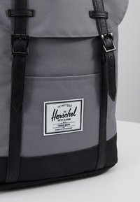 Herschel - RETREAT - Rucksack - grey/black - 7