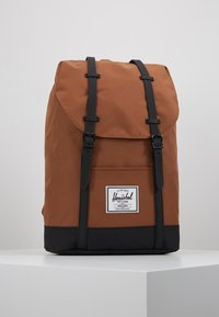 Herschel - RETREAT - Reppu - saddle brown/black - 0