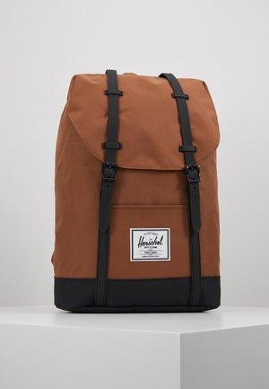 RETREAT - Tagesrucksack - saddle brown/black