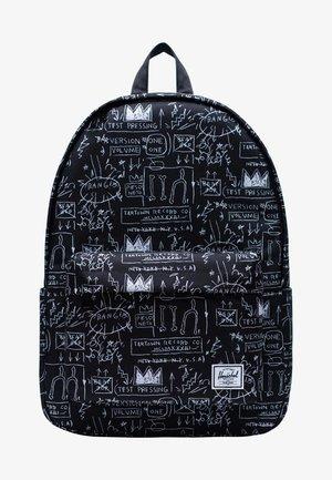 CLASSIC BASQUIAT - Tagesrucksack - black