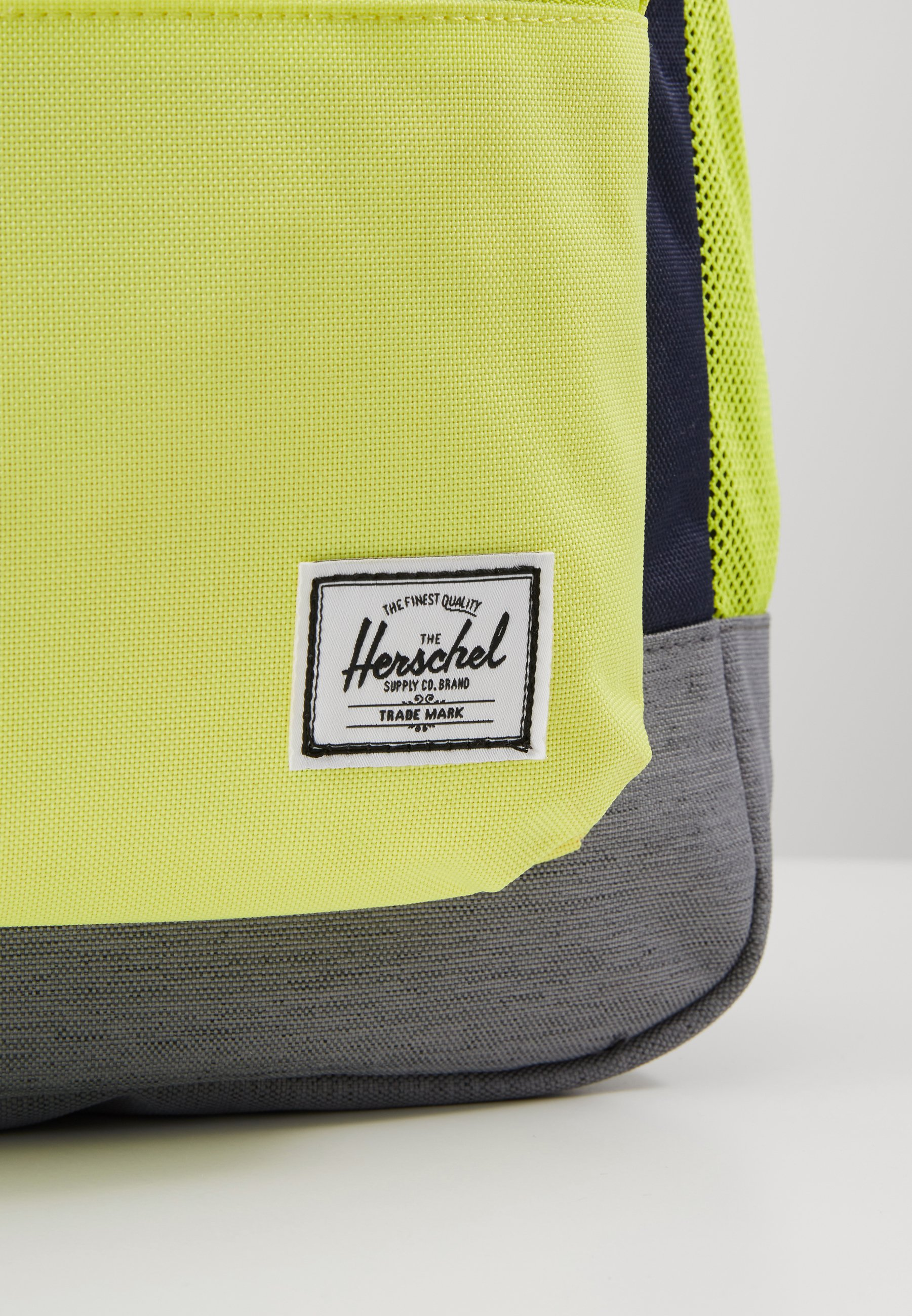 Herschel Heritage Youth X-large - Sac À Dos Peacoat/highlight/mid Grey Crosshatch