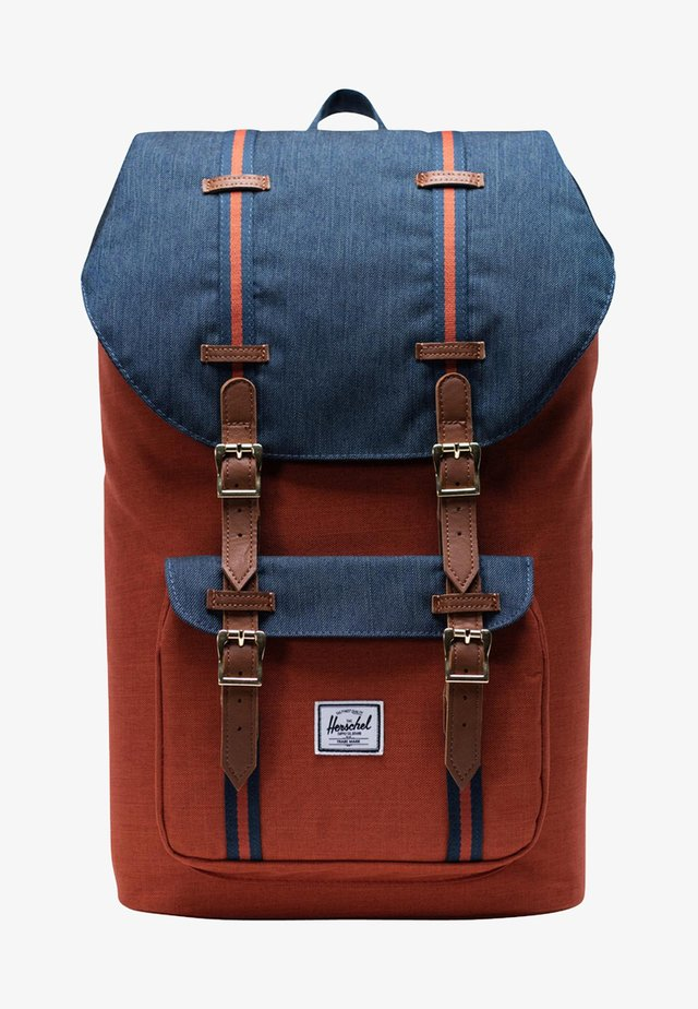 LITTLE AMERICA  - Tagesrucksack - red\blue