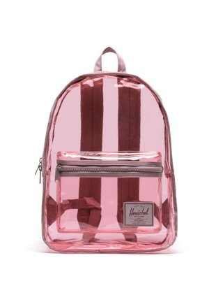 HERSCHEL CLASSIC X-LARGE BACKPACK CLEAR BAGS BLACK/CLEAR RUCKSAC - Sac à dos - ash rose