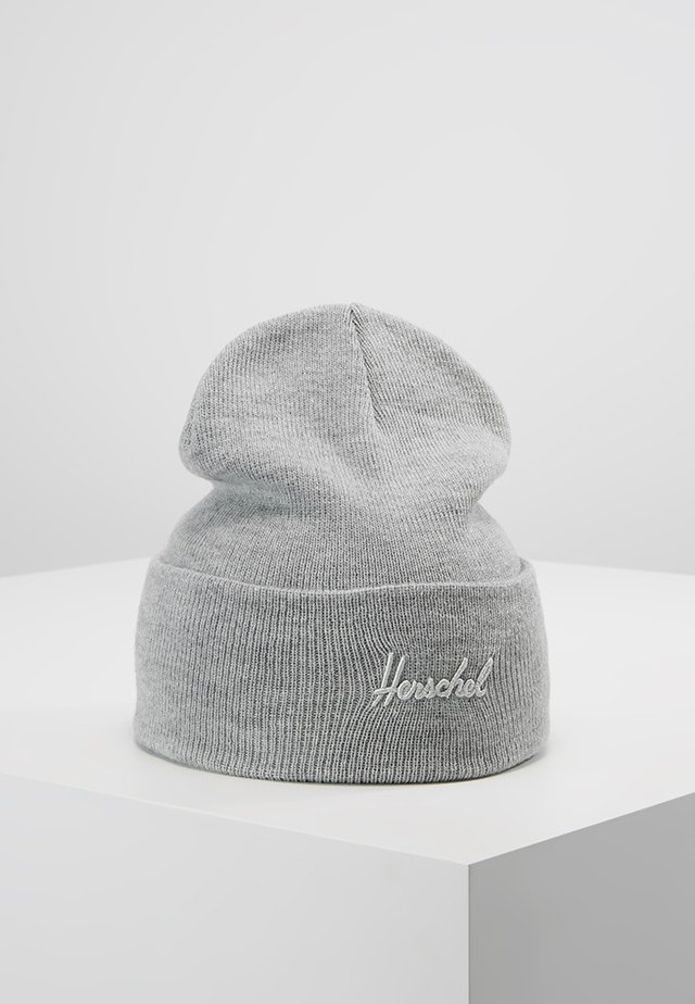 ADEN BEANIE - Huer - heather light grey