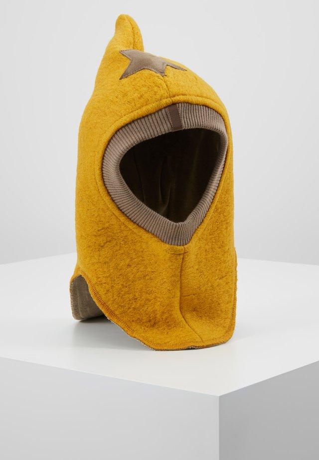 Mütze - mustard/nougat