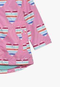 Hatley - KIDS JACKETS HEARTS - Sadetakki - pink - 3