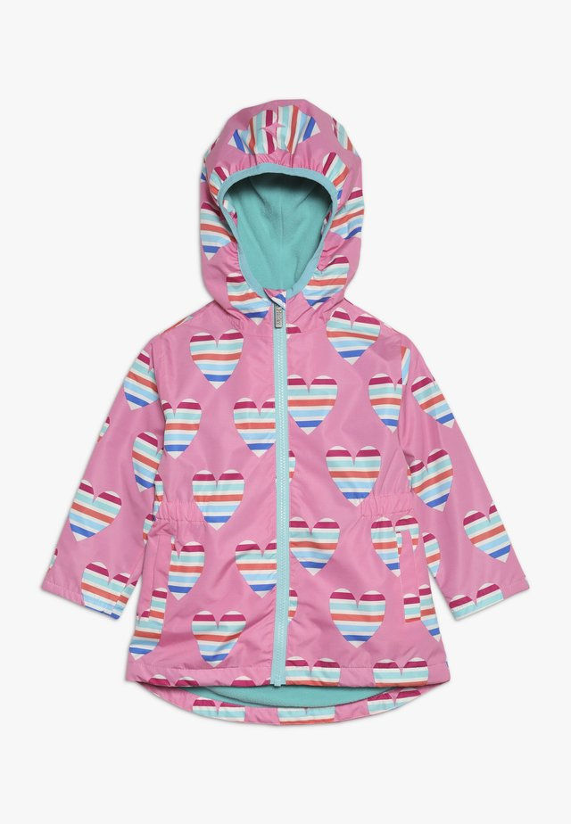 KIDS JACKETS HEARTS - Regenjas - pink