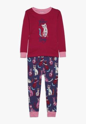 KIDS CLASSIC PATCHWORK - Pyžamová sada - pink
