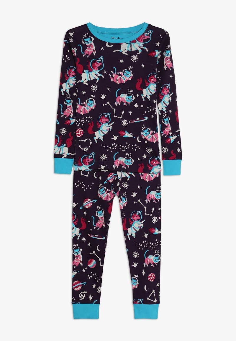 Hatley - KIDS CLASSIC ENCHANTED SPACE - Pyžamová sada - blue