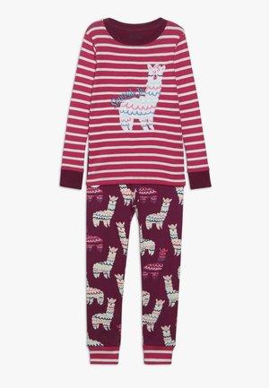 KIDS CLASSIC ADORABLE ALPACAS SET - Pyžamová sada - pink