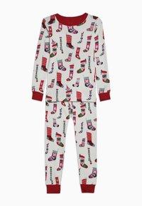 Hatley - KIDS PYJAMA HOLIDAY STOCKINGS SET - Pyžamová sada - offwhite - 0