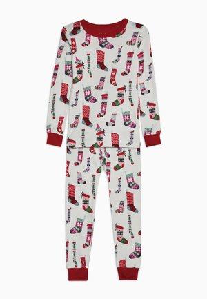 KIDS PYJAMA HOLIDAY STOCKINGS SET - Pyjamas - offwhite