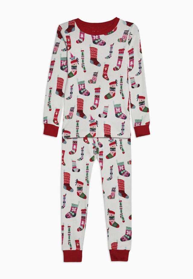 KIDS PYJAMA HOLIDAY STOCKINGS SET - Pyjama - offwhite