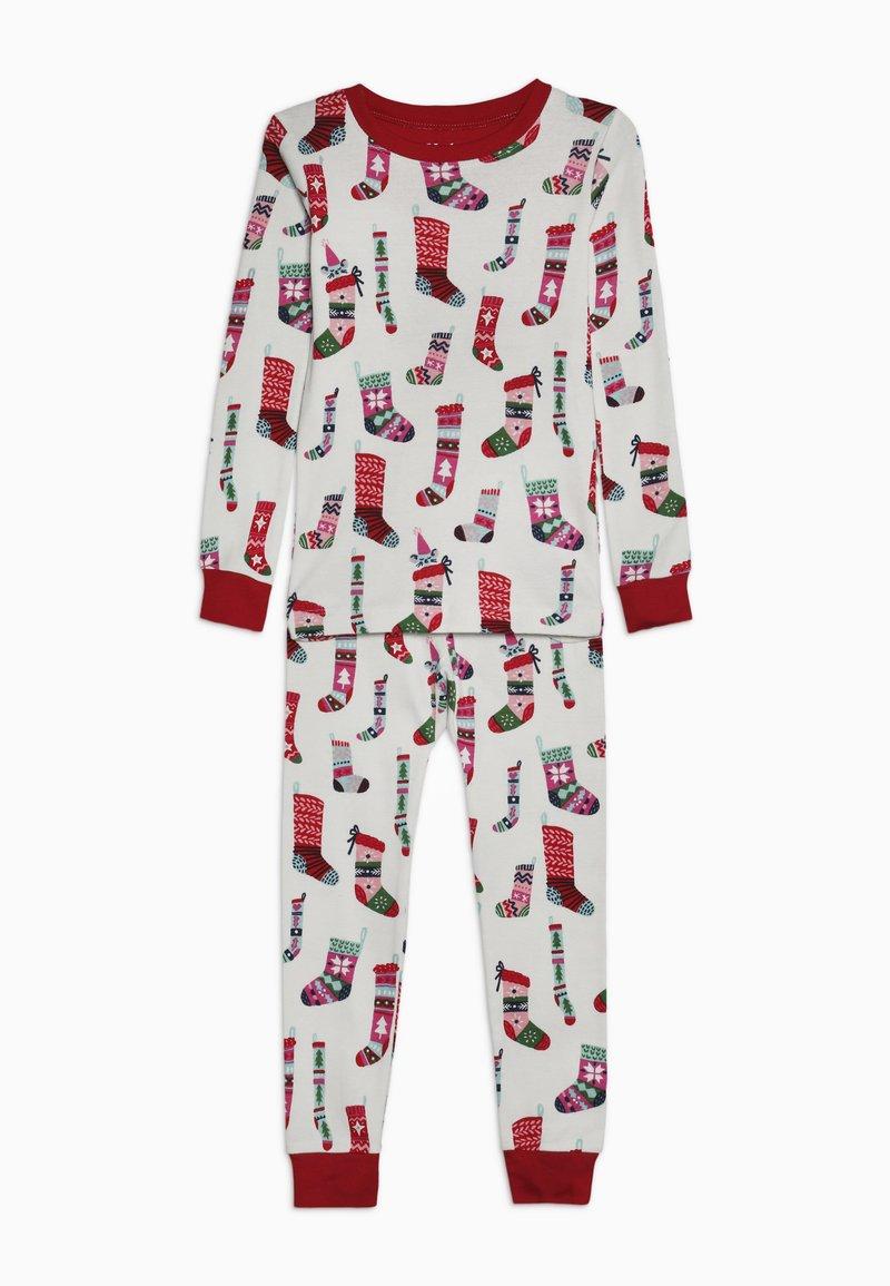 Hatley - KIDS PYJAMA HOLIDAY STOCKINGS SET - Pyžamová sada - offwhite