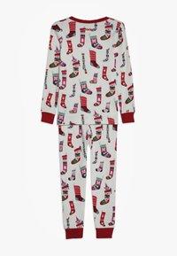 Hatley - KIDS PYJAMA HOLIDAY STOCKINGS SET - Pyžamová sada - offwhite - 1
