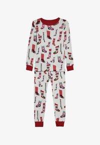 Hatley - KIDS PYJAMA HOLIDAY STOCKINGS SET - Pyžamová sada - offwhite - 3