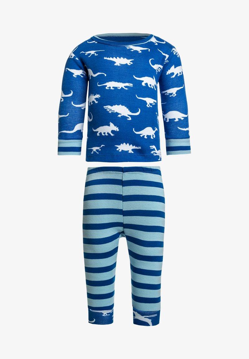 Hatley - DINOSAUR MENAGERIE LONG SLEEVE MINI BABY - Pijama - blue