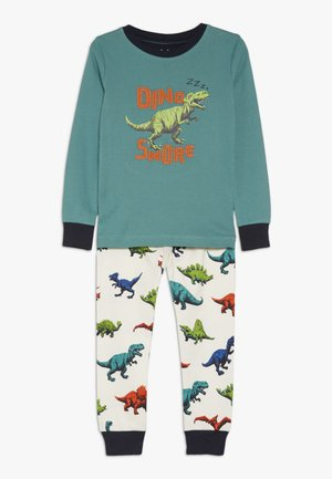 KIDS DINO HERD SET - Pyjama set - green
