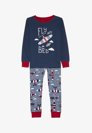 KIDS PLANES SET - Pyjama - blue