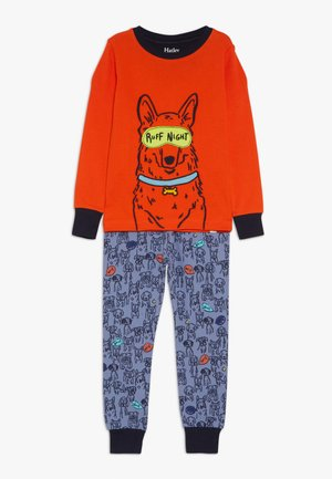 KIDS PUPPY PALS SET - Pyžamová sada - orange