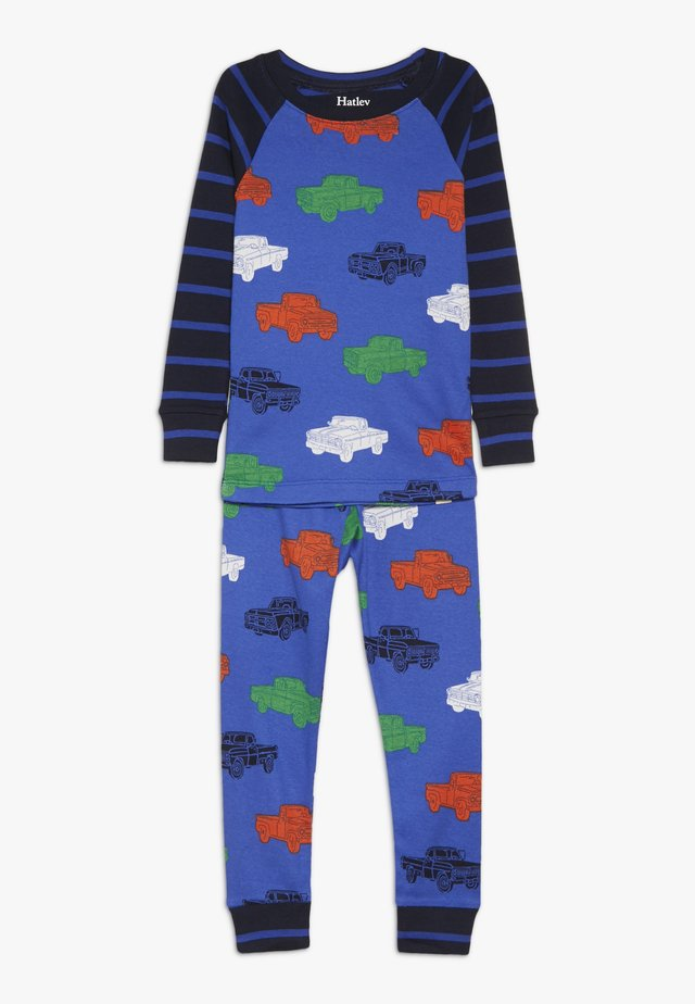KIDS CLASSIC PICKUP TRUCKS SET - Pyjama set - blue
