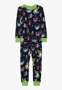 Hatley - KIDS COSY MONSTERS - Pyžamová sada - blue - 0