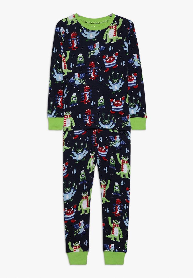 Hatley - KIDS COSY MONSTERS - Pyžamová sada - blue