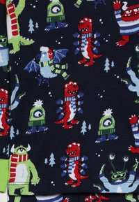 Hatley - KIDS COSY MONSTERS - Pyžamová sada - blue - 4