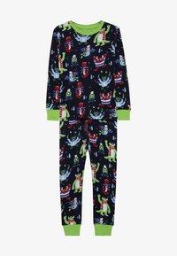 Hatley - KIDS COSY MONSTERS - Pyžamová sada - blue - 3