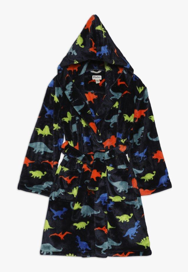 KIDS ROBE DINO  - Dressing gown - blue