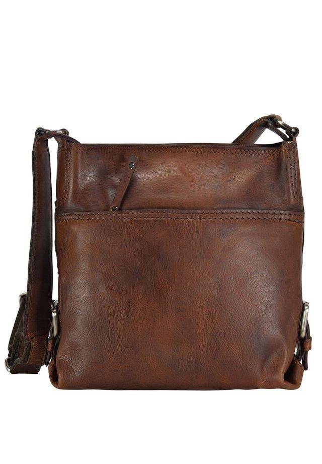 SADDLE  - Across body bag - brown
